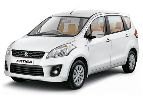 Maruti Ertiga White Color Pictures
