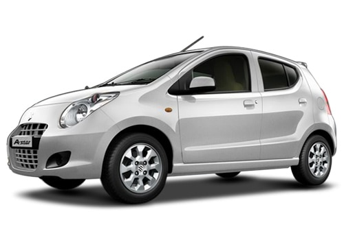 Maruti A-Star Arctic White Color