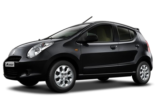 Maruti A-Star Midnight black Color