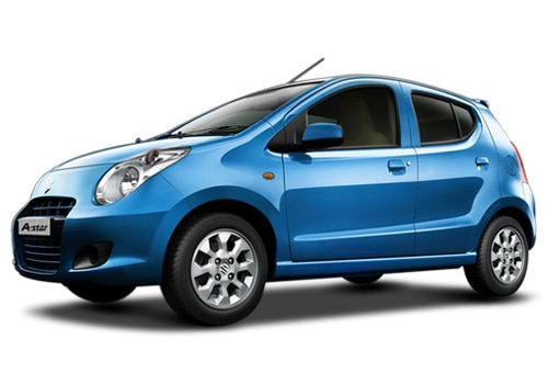 Maruti A-Star Paradise Blue Color