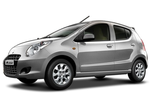 Maruti A Star Silky silver Color