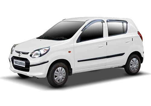 Maruti Alto 800 Superior white Color
