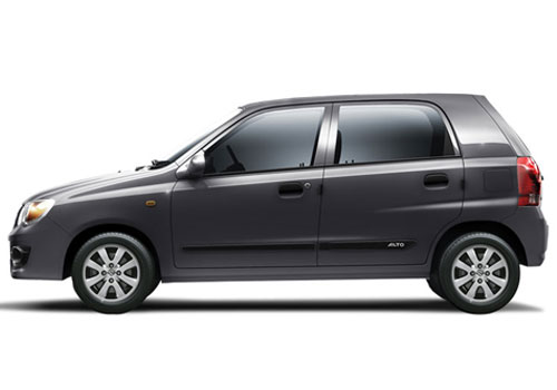 Maruti Alto K10 Grey Color Pictures