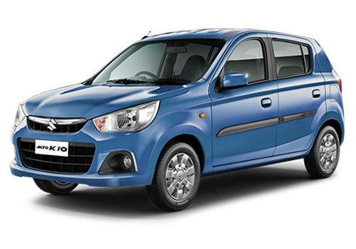 Maruti Alto K10 Cerulean Blue Color