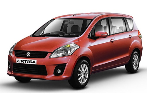 Maruti Ertiga Fire Brick Red Color
