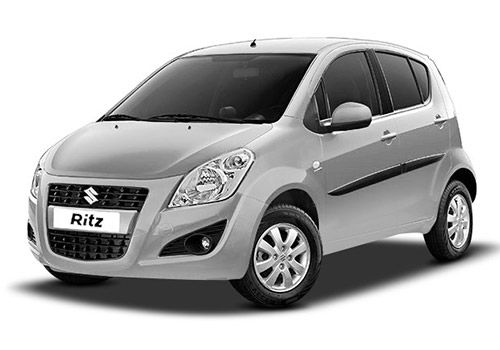 Maruti Ritz Silky silver Color
