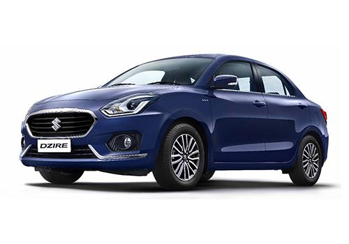 Maruti Swift Dzire ALP Blue Color