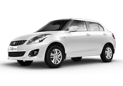 Maruti Swift Dzire Arctic White Color