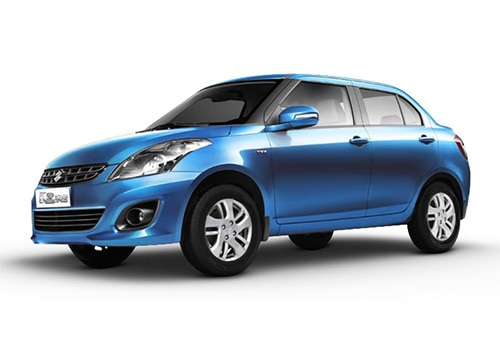 Maruti Swift Dzire Pacific Blue Color