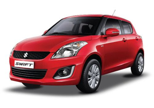 Maruti Swift Fire Red Color