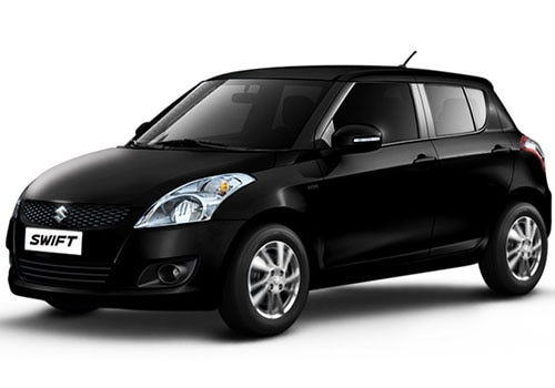 Maruti Swift Metallic  Midnight Black Color