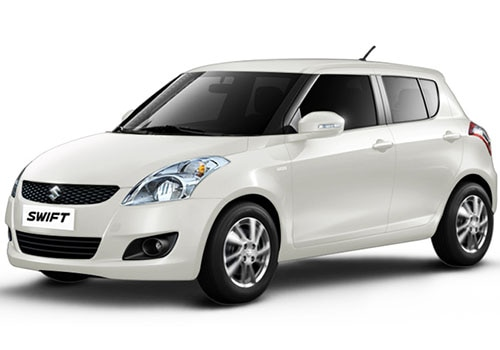 Maruti Swift Metallic  Pearl Arctic White Color