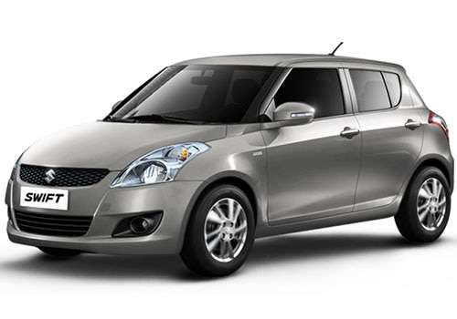 Maruti Swift Metallic  silky silver Color