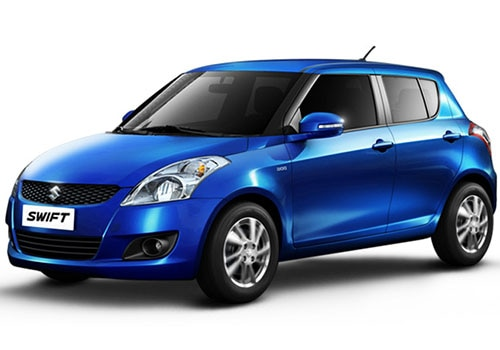 Maruti Swift Metallic  Torque Blue Color