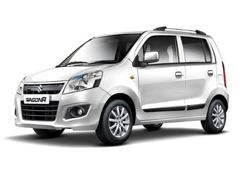 Maruti Wagon R Superior white Color