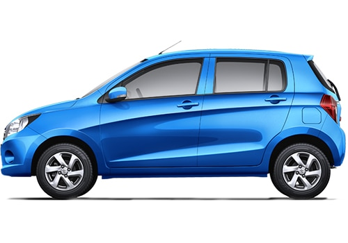 Maruti Celerio Blue Color Pictures