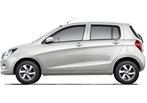 Maruti Celerio White Color Pictures