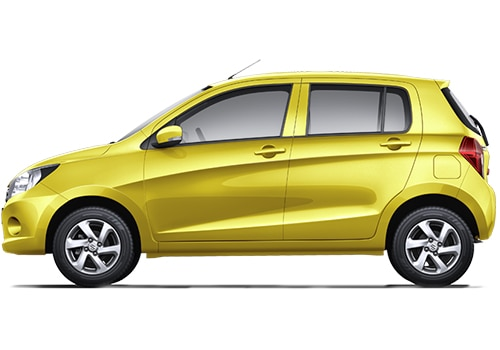 Maruti Celerio Yellow Color Pictures