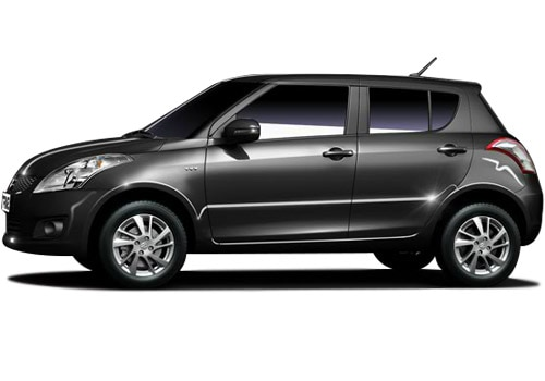 Maruti Swift Metallic Grey Color Pictures