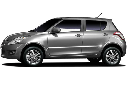 Maruti Swift Silver Color Pictures