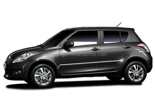 Maruti Swift Dzire Tour Metallic  Midnight Black Color