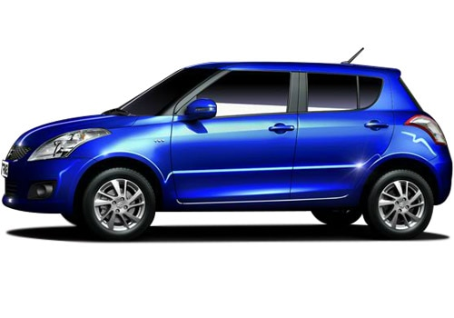 Maruti Swift Blue Metallic Color Pictures