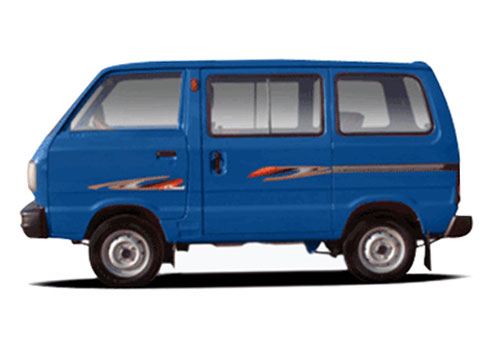 Maruti Omni Blue Color Pictures