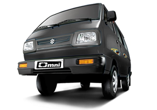 Maruti Omni Fantasy Black Color Picture