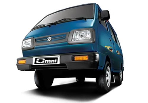 Maruti Omni Metallic  Pearl Blue Blaze Color