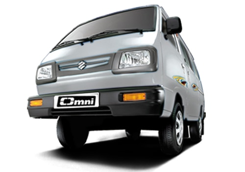 Maruti Omni Metallic  silky silver Color