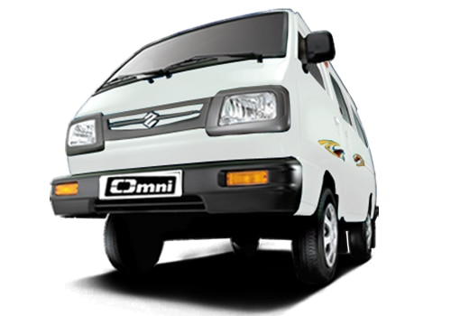 Maruti Omni White Color Pictures