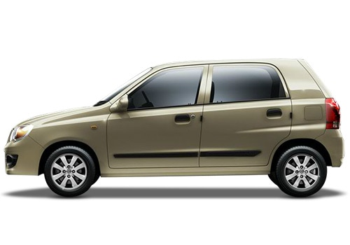 Maruti Alto K10 Beige Color Pictures