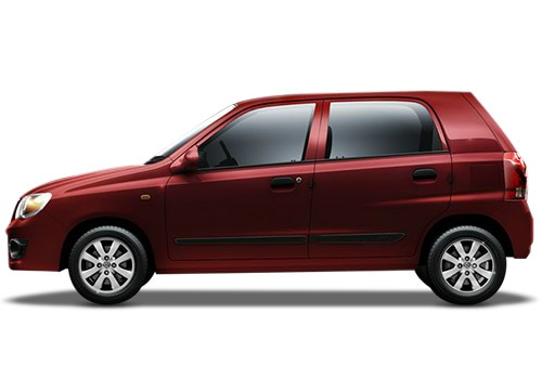 Maruti Alto K10 Red Color Pictures