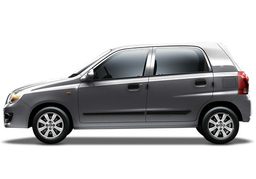 Maruti Alto K10 Silver Color Pictures