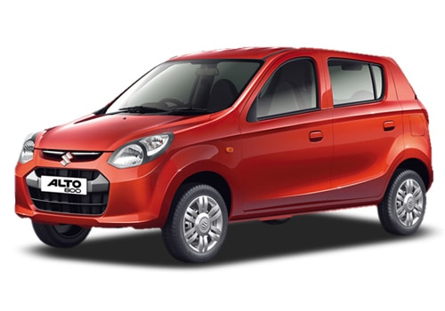 Maruti Alto 800 New Blazing Red Color Picture