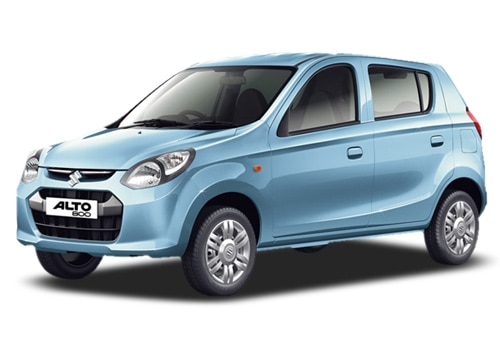 Maruti Alto 800 Blue Color Pictures