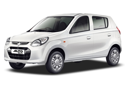 Maruti Alto 800 White Color Pictures