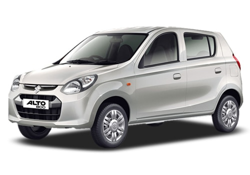 Maruti Alto 800 Silver Color Pictures