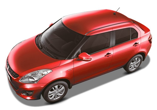 Maruti Swift Dzire Red Color Pictures