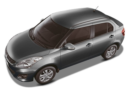 Maruti Swift Dzire Midnight black Color Picture