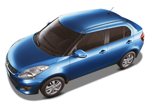 Maruti Swift Dzire Blue Color Pictures