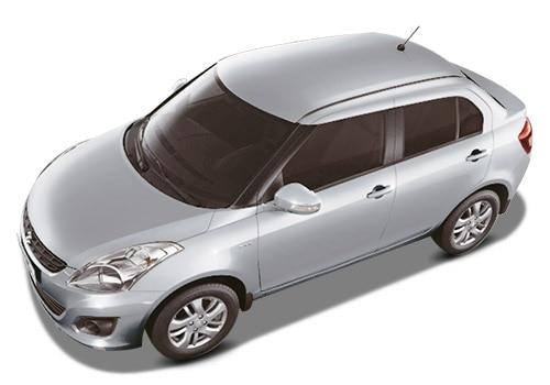 Maruti Swift Dzire Silver Color Pictures