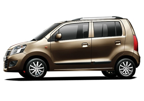 Maruti Wagon R Chocolate Color Pictures