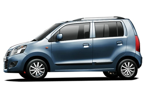Maruti Wagon R Blue Color Pictures