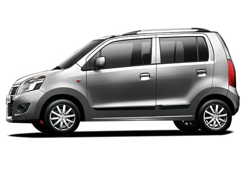 Maruti Wagon R Silver Color Pictures