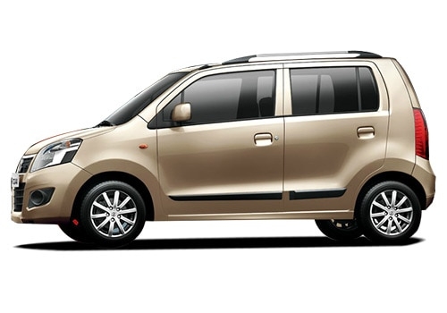 Maruti Wagon R Beige Color Pictures