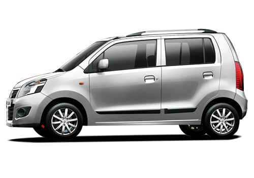 Maruti Wagon R White Color Pictures