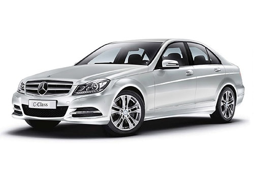 mercedes benz c class diamond white color