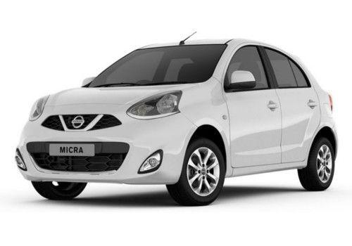 Nissan Micra Storm White Color