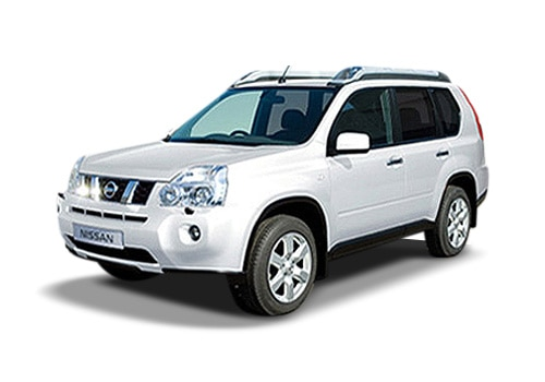 Nissan X-Trail White Color Pictures